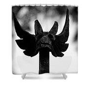 Dragons Gate Shower Curtain