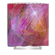 Dragon's Gem Shower Curtain