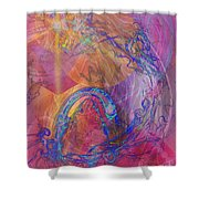 Dragon's Tale Shower Curtain
