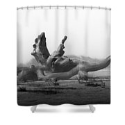 Dragonwood Shower Curtain