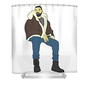 Drake Views Shower Curtain