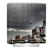 Drama In The City 3 Shower Curtain