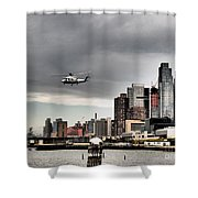 Drama In The City 8 Shower Curtain