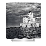Drama In The Clouds Shower Curtain