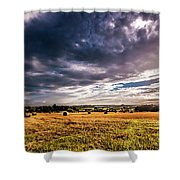 Drama In The Skies Shower Curtain