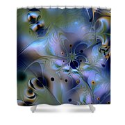 Drama Of Indifference Shower Curtain
