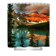 Drama Of The Canadian Rockies Shower Curtain