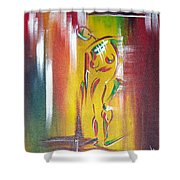 Drama Woman Shower Curtain