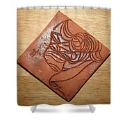 Dramaqueen 3 - Tile Shower Curtain