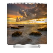 Dramatic Shower Curtain