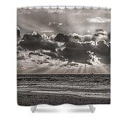 Dramatic Dutch Coast Shower Curtain