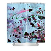Dramatic Grands Shower Curtain