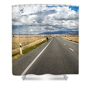 Dramatic Road To Segovia Shower Curtain