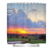 Dramatic Skies Shower Curtain