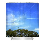 Dramatic Sky Shower Curtain