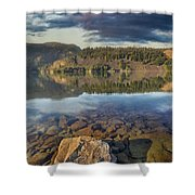 Drano Lake In Washington State Shower Curtain