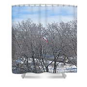 Drapeau Canadien / Canadian Flag Shower Curtain