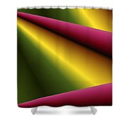 Draped Shower Curtain