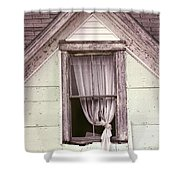 Drapes Shower Curtain