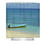 South Pacific Dreams Shower Curtain