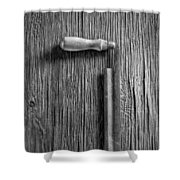 Draw Knife Shower Curtain
