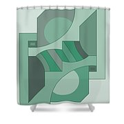 Drawb2abstract449 Shower Curtain