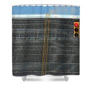 Drawbridge And Stoplight Shower Curtain