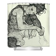 Drawings I Shower Curtain