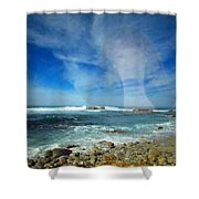Drawn To The Sea Shower Curtain