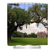 Drayton Hall Plantation Charleston Shower Curtain