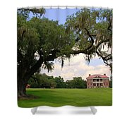 Drayton Hall Plantation Charleston Shower Curtain