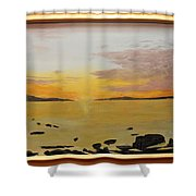 drayton Harbour Shower Curtain