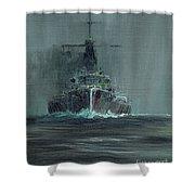 Dreadnought 1907 Shower Curtain