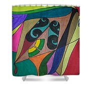 Dream 229 Shower Curtain