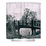 Dream Bridge Shower Curtain