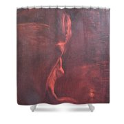 Dream In Hot Night Shower Curtain