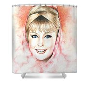Dream Of Jeannie Shower Curtain