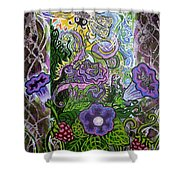 Dream Of The Bee Shower Curtain