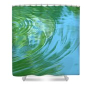 Dream Pool Shower Curtain