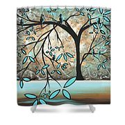 Dream State I By Madart Shower Curtain