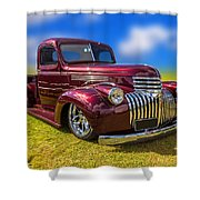 Dream Truck Shower Curtain