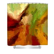 Dream Weaver Shower Curtain by Ely Arsha