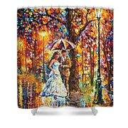 Dream Wedding Shower Curtain