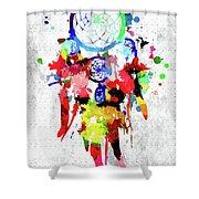 Dreamcatcher Grunge Shower Curtain