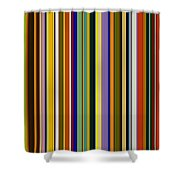 Dreamcoat Designs Shower Curtain by Michelle Calkins