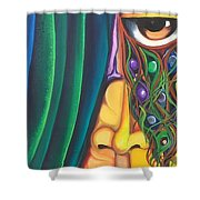 Dreamer - Scar Series 4 Shower Curtain
