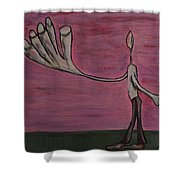 Dreamers 13-003 Shower Curtain