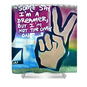 Dreamers Shower Curtain