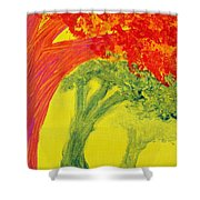 Dreaming And Shadows Shower Curtain