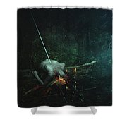 Dreaming Color Shower Curtain
